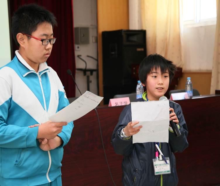 2014年,11岁的中出凌央在月坛中学.jpg
