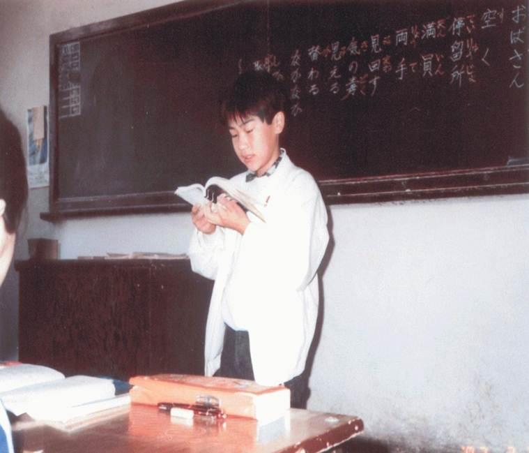 1987年,中出凌央的父亲15岁在月坛中学.jpg